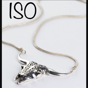 ISO=>Spell Designs Buffalo Hunter Necklace